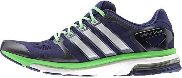 ... adidas adistar boost esm men azul / blanco / verde ... RZOFHOS