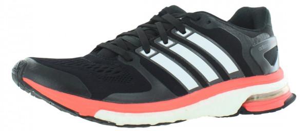 ... adidas adistar boost esm men black / core white / solar red ... LOEBVYN