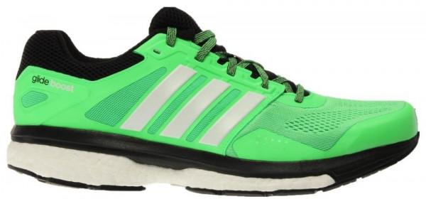 ... adidas supernova glide boost 7 men flash green/black/white ... LZFBPKA