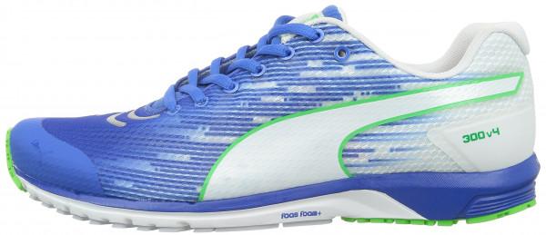 ... puma faas 300 v4 men bleu - blau (04 strong blue-white-white ... KHQKPMW