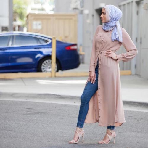 #thelist: street chic: fall is trending. hijab fashion ... DAGVYGC
