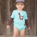 A cowboy themed 1st birthday outfit for boys
