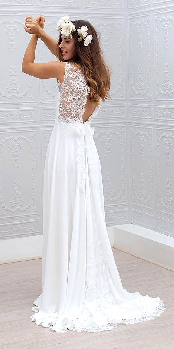 30 beach wedding dresses perfect for destination weddings BTHHACS