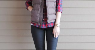 40 cool outfit ideas with puffy vest GXWKHZE