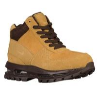 acg nike boots nike acg air max goadome - boysu0027 grade school - tan / brown LANUIMD