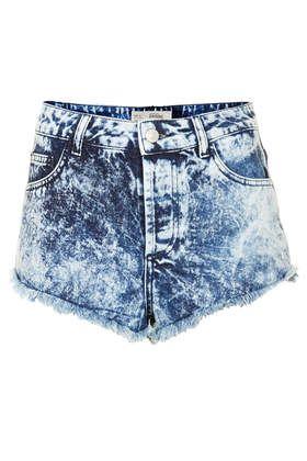 acid wash shorts moto brooke acid denim hotpants - denim shorts - shorts - clothing YXDSSVH