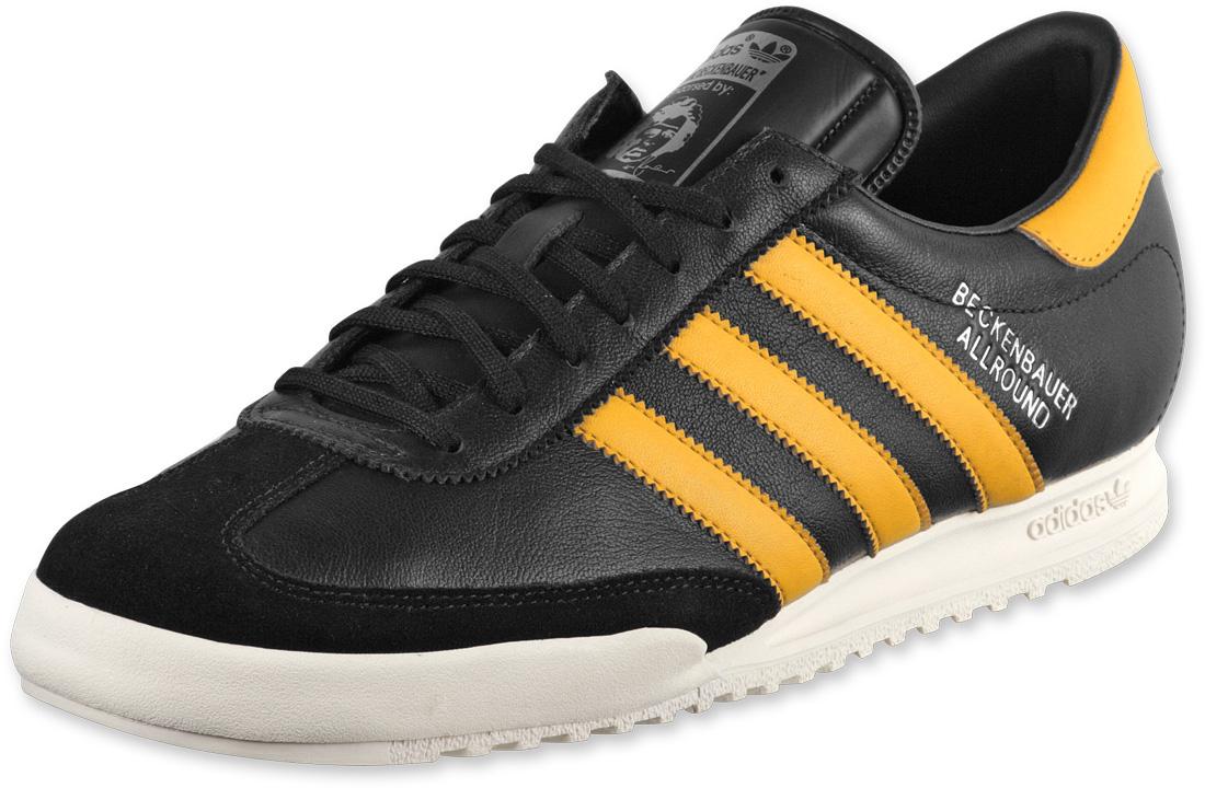 adidas adidas beckenbauer allround shoes black1/yellow GKLOTYL