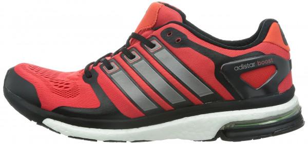 adidas adistar boost esm men red / black ... JZAFLPQ