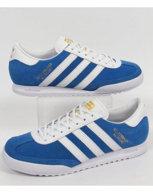 adidas beckenbauer allround adidas beckenbauer trainers bluebird blue/white IIASNJX