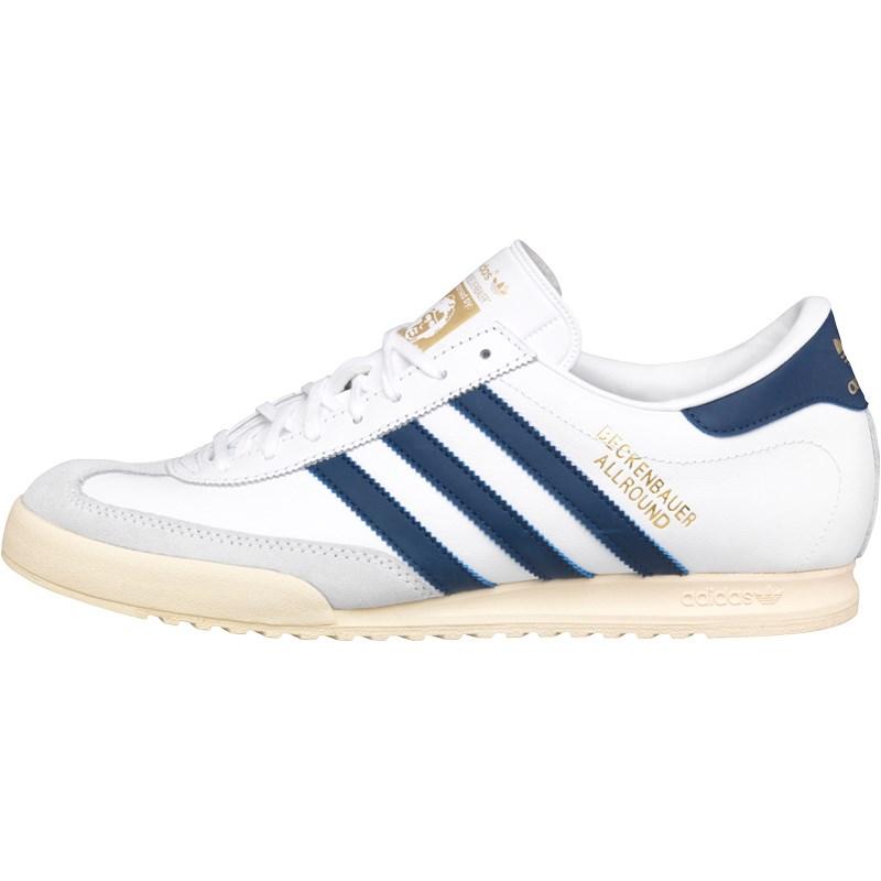 adidas beckenbauer allround adidas originals mens beckenbauer all round trainers white/blue/gold NRWFFMU
