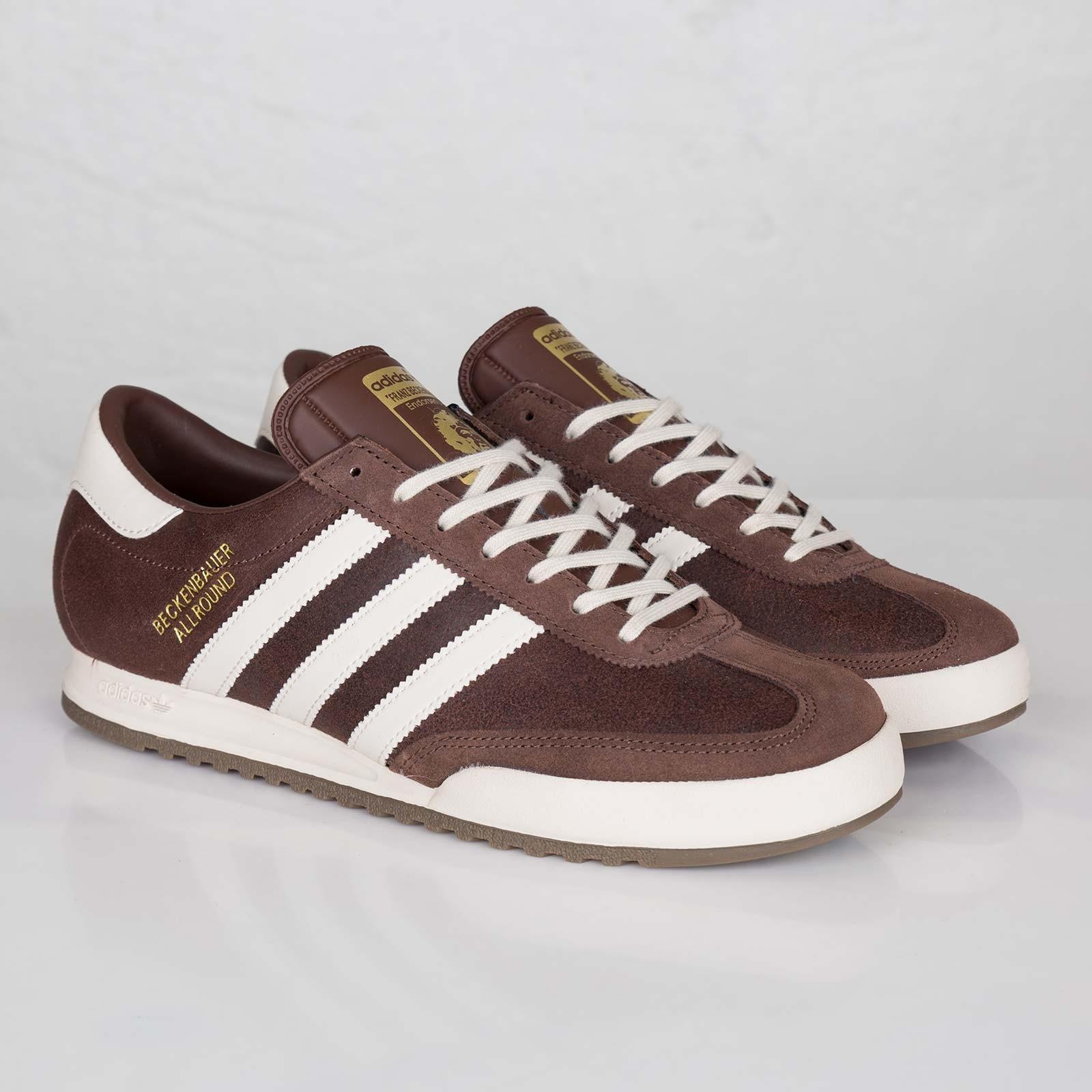 adidas beckenbauer shoes brown; adidas beckenbauer allround shoes ... DVRQWZE