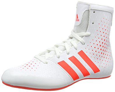 adidas boxing shoes adidas ko legend 16.2 menu0027s boxing boots, white/red, ... OESRMXL