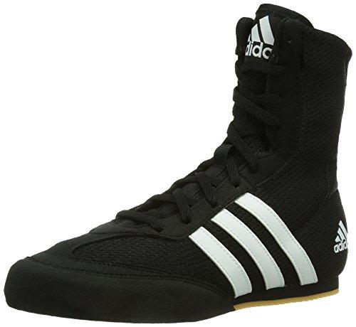 adidas boxing shoes amazon.com: adidas box hog 2 boxing shoes - ss17 - 8 - black: shoes YFWOFRX