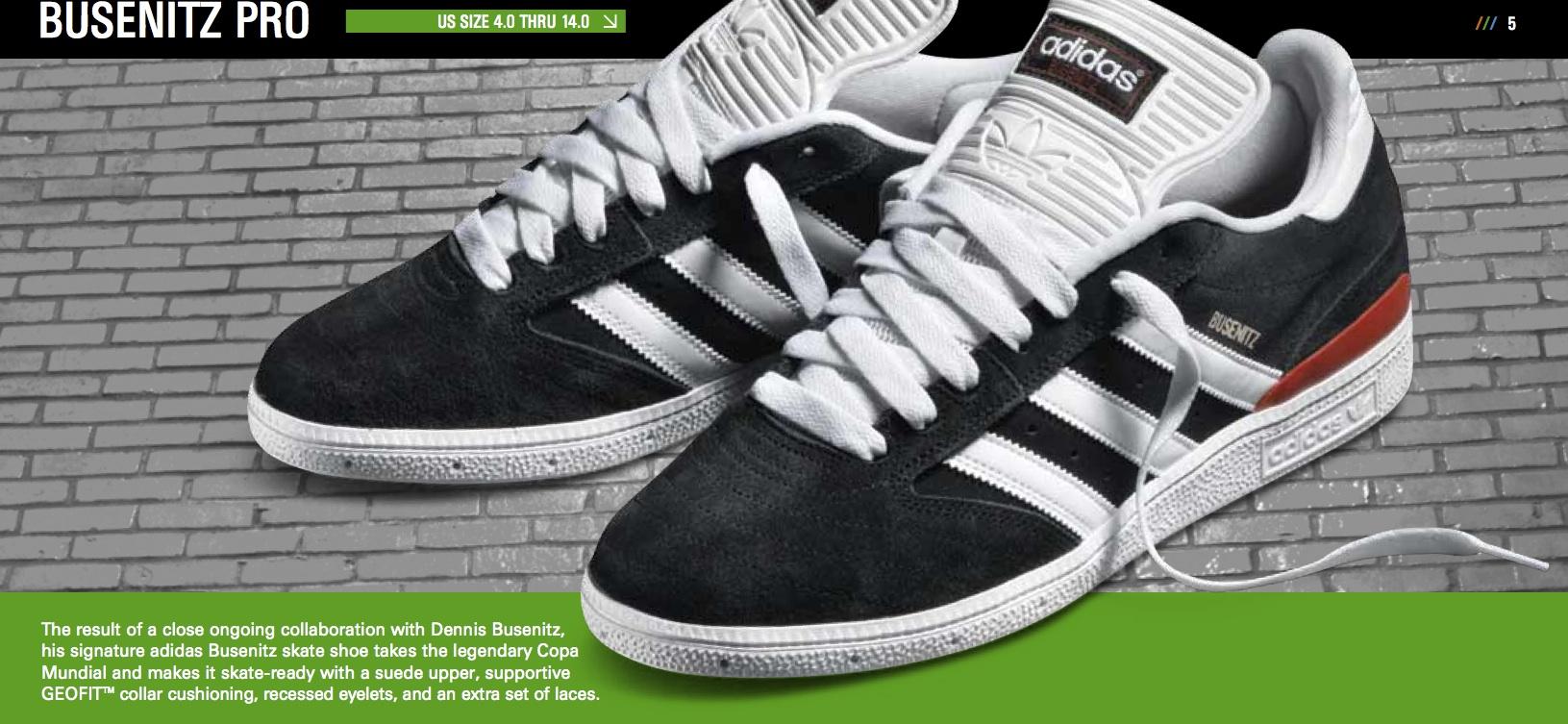 adidas busenitz pro advertisements PMWCDLR