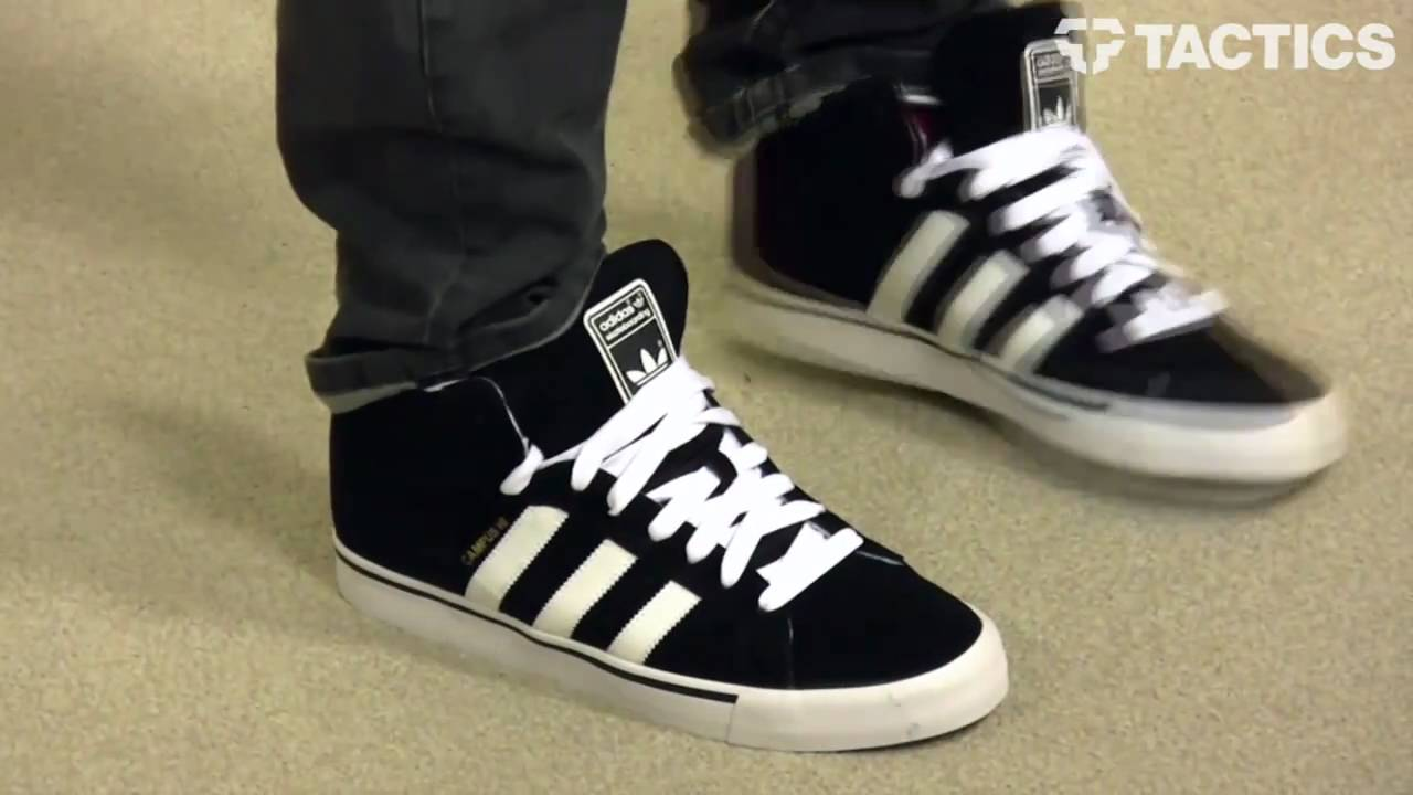 adidas campus vulc hi skate shoes review - tactics.com BVTIEWA