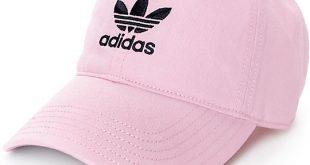 adidas cap adidas pink baseball hat RMOWTZW