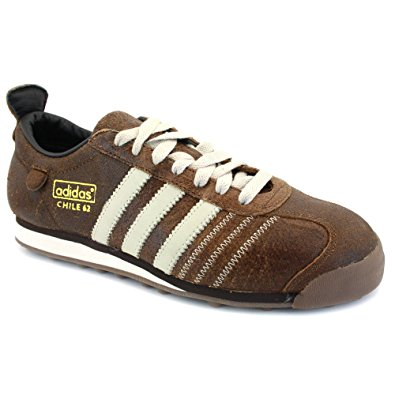 Adidas Chile 62 adidas chile 62 mens laced 3 stripe leather trainers coffee - 10 FEEKMAM
