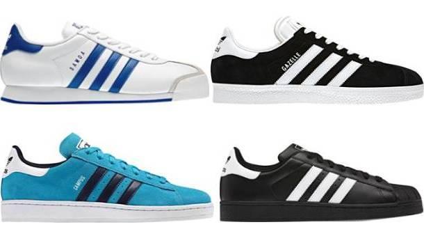 Adidas Classic adidas originals iconics fall sneaker lineup COLLRBC
