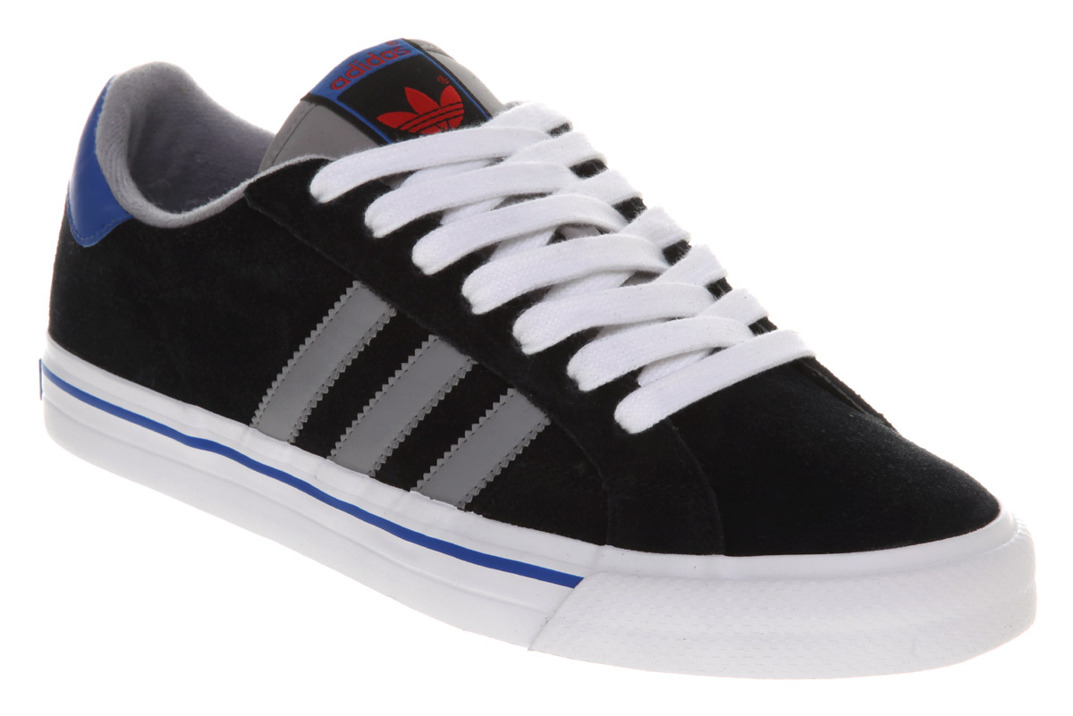 Adidas Classic image is loading adidas-classic-vulc-black-alluminum-trainers-shoes-dl YLGTAZW