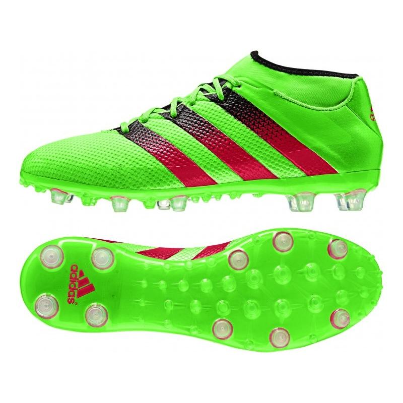adidas cleats adidas ace 16.2 primemesh fg/ag soccer cleats (solar green/shock pink/black) ZCFZRJN