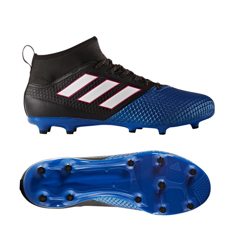 adidas cleats adidas ace 17.2 primemesh fg soccer cleats (black/white/blue) KSSQFWE