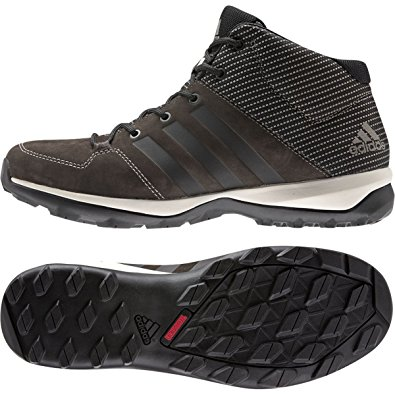 adidas daroga adidas b27275 mens daroga plus mid lea, brown/black/simple brown, 9 NHKBRFC