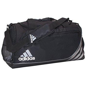adidas duffle bag adidas team speed medium duffel bag, black FHVABKW