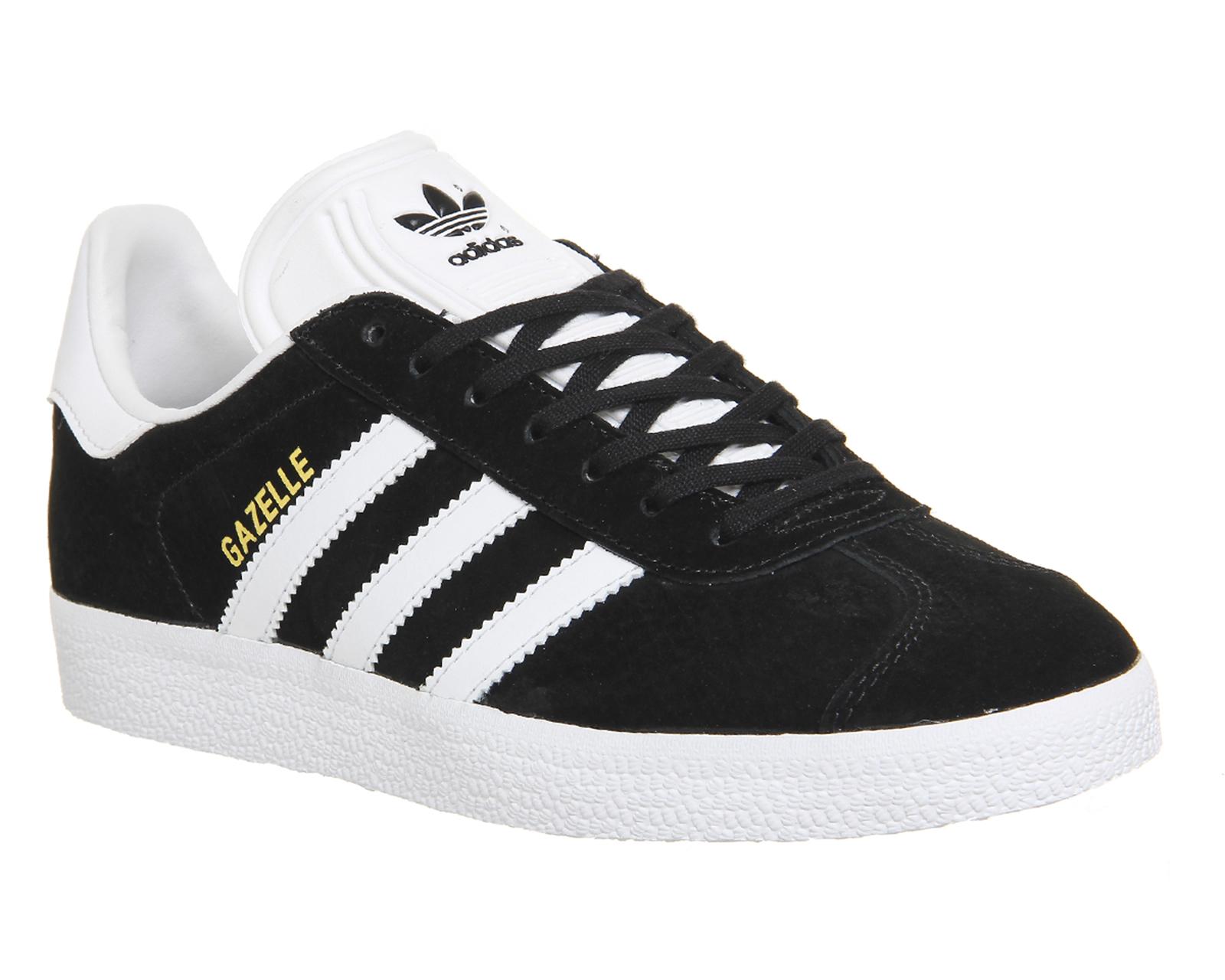 adidas gazelles buy core black white adidas gazelle from office.co.uk. BYSXPWH
