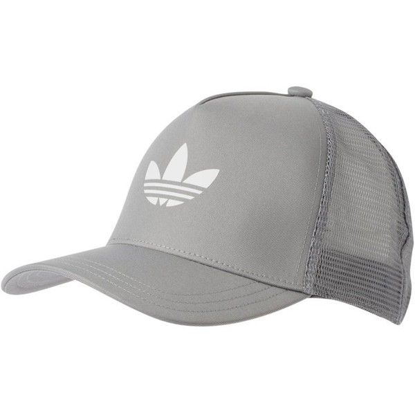 adidas hats adidas originals caps light grey ❤ liked on polyvore featuring accessories,  hats, adidas YMUGGUH