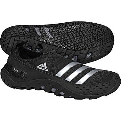 adidas jawpaw 2 water shoe - black/metallic silver/black - mens - 8 BYVFHJO