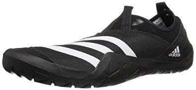 adidas jawpaw adidas outdoor menu0027s climacool jawpaw slip-on water shoe,  black/white/utility UBFGVIN