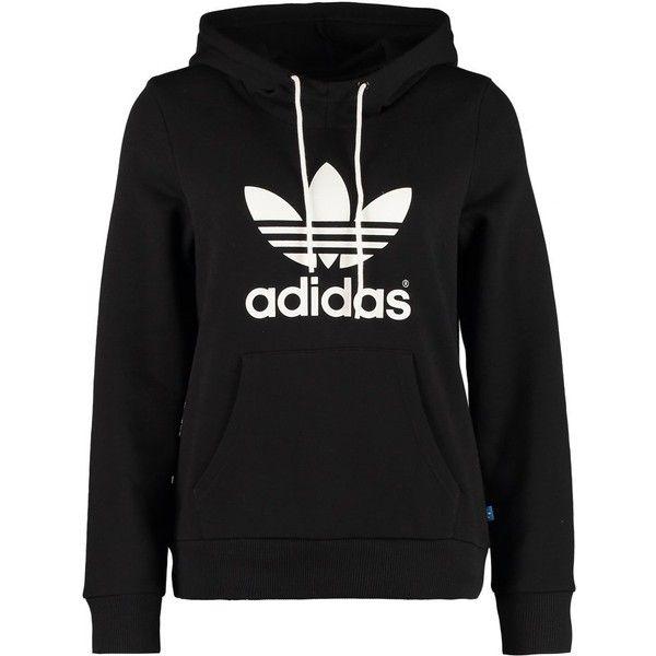 adidas jumper adidas originals trefoil hoodie found on polyvore HWXVJAM