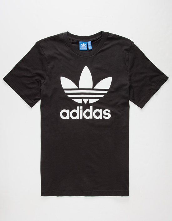 Adidas Originals T Shirt adidas originals trefoil mens t-shirt LQEQLPG