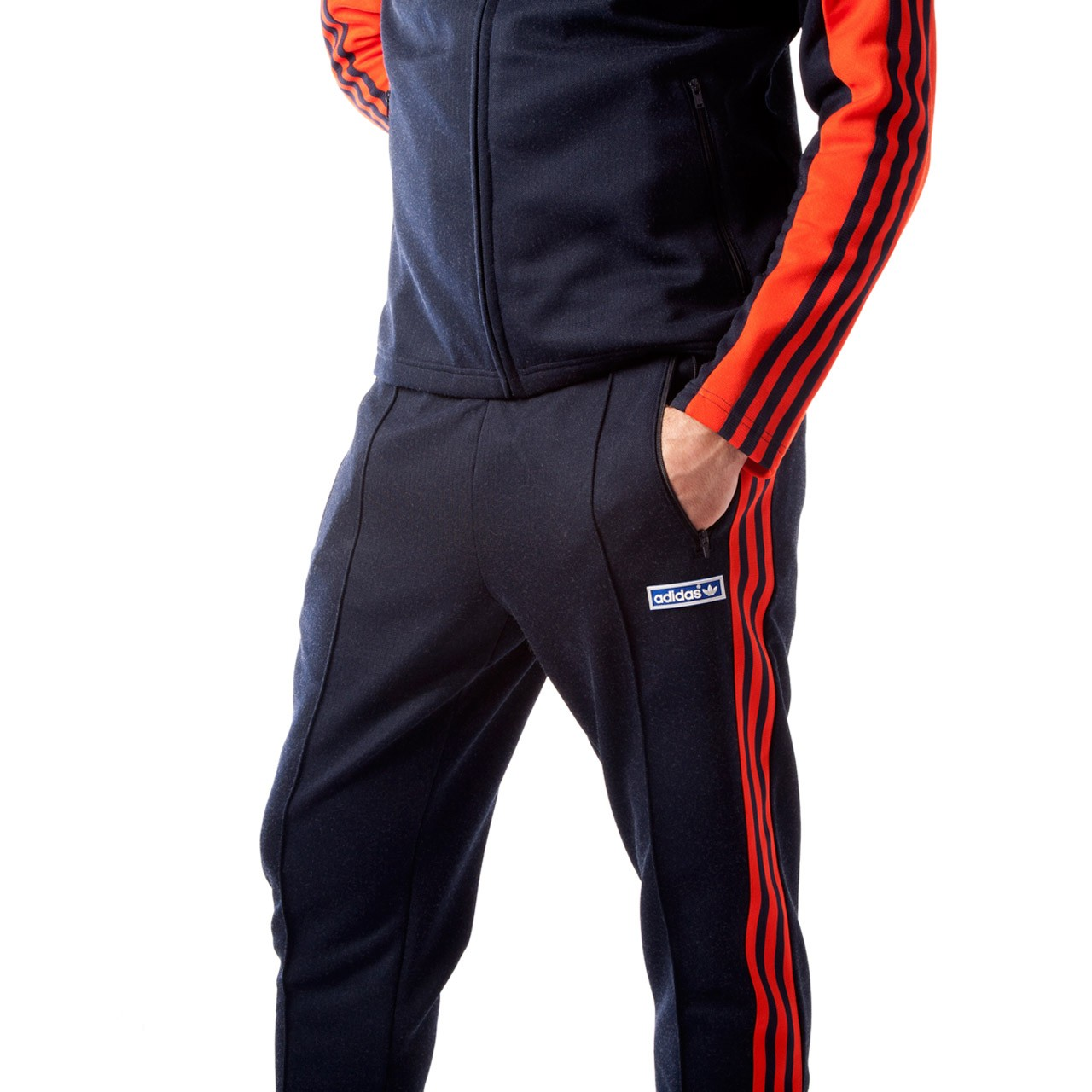 adidas originals tracksuit adidas originals og tracksuit (navy / orange) JNDBIDY