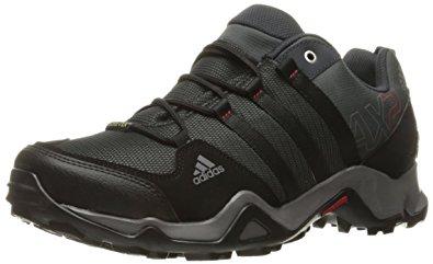 Adidas Outdoor adidas outdoor menu0027s ax2 gore-tex hiking shoe, dark shale/black/light XNJUBVH