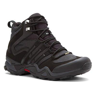 Adidas Outdoor adidas outdoor terrex fast x high gtx hiking boot - menu0027s black/dark grey/ VEAYQCO