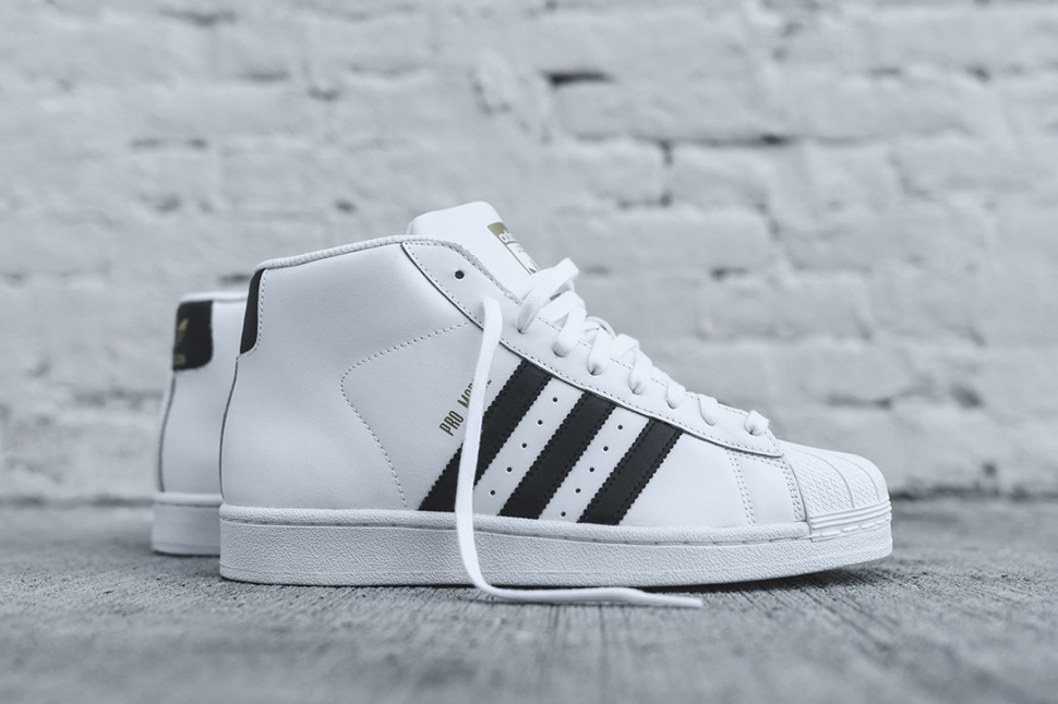 adidas pro model og white black SMGVWVT