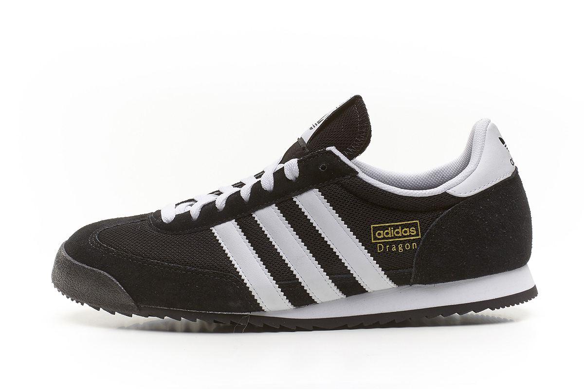 Adidas Retro adidas-originals-dragon-retro-trainers-black-amp-white- ULCQUUX