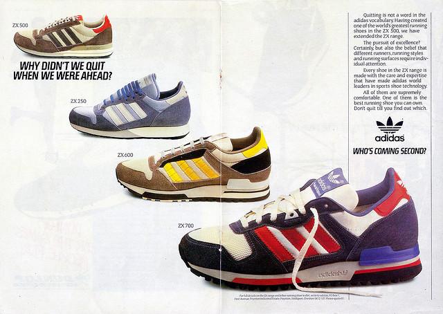 Adidas Retro adidas retro advertisment of 90s EWKXTQH