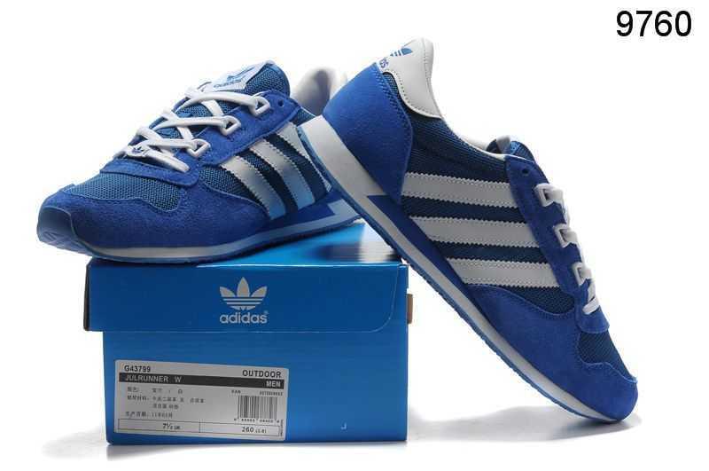 Adidas Retro adidas retro running shoes in blue YAPNANZ