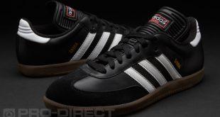 adidas samba classic boots - black/white ... FUMJMMY