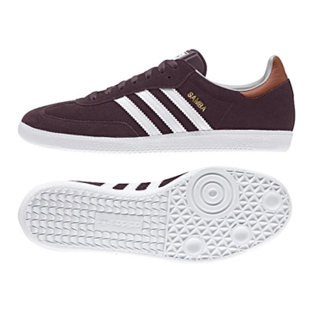 adidas samba shoes adidas samba originals indoor soccer shoe (purple) SHDQGAN