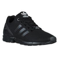 Adidas Shoes for Kids adidas originals zx flux - boysu0027 preschool - black / white ZUYWDRA