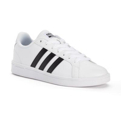 adidas shoes for women adidas neo cloudfoam advantage stripe womenu0027s shoes WAENVFM
