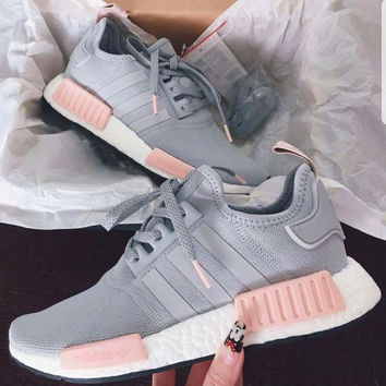 adidas shoes for women adidas women running sport casual shoes nmd sneakers grey MRNENXV