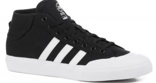 Adidas Skate adidas matchcourt mid skate shoes - core black/white/white VWQVPHQ