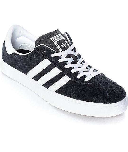 Adidas Skate adidas skate adv black, white u0026 gum shoes SDRVSHW