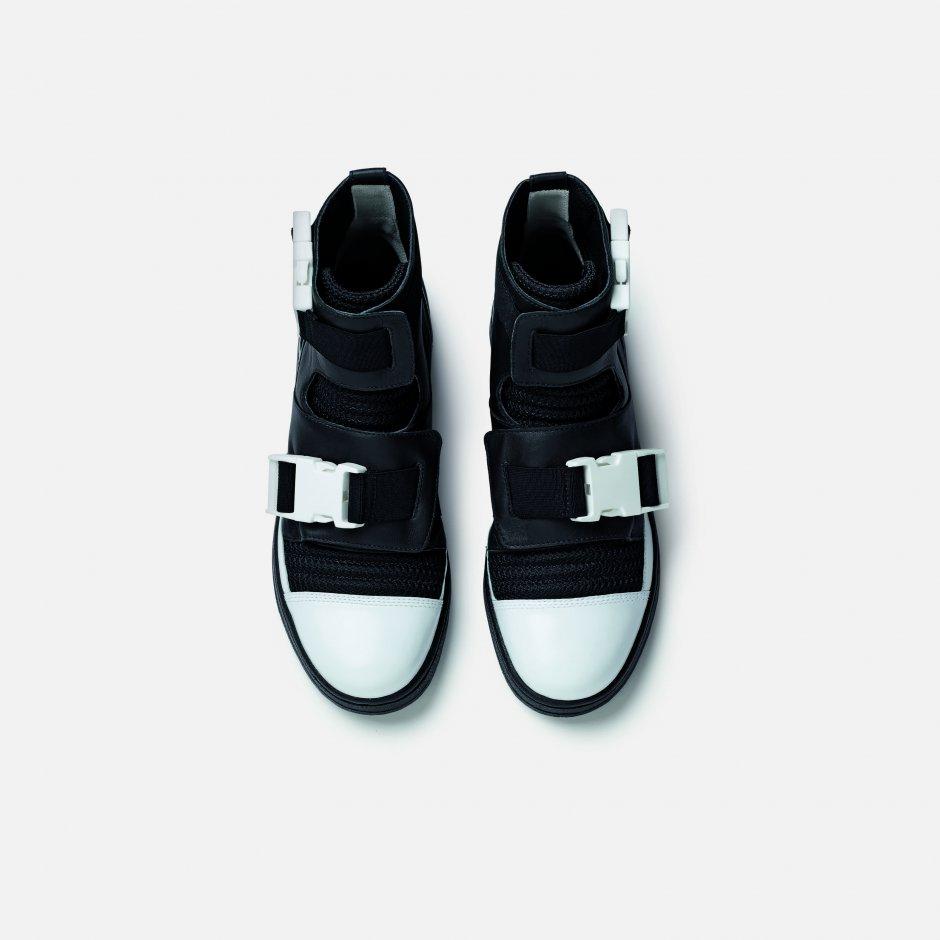 adidas slvr high top buckle AZTIODE