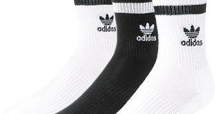 adidas socks adidas roller black u0026 white crew socks 3 pack DWXQWZS