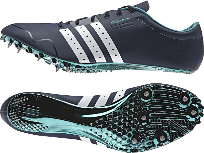 adidas spikes adidas adizero prime sp running spikes - navy RSXGWQA